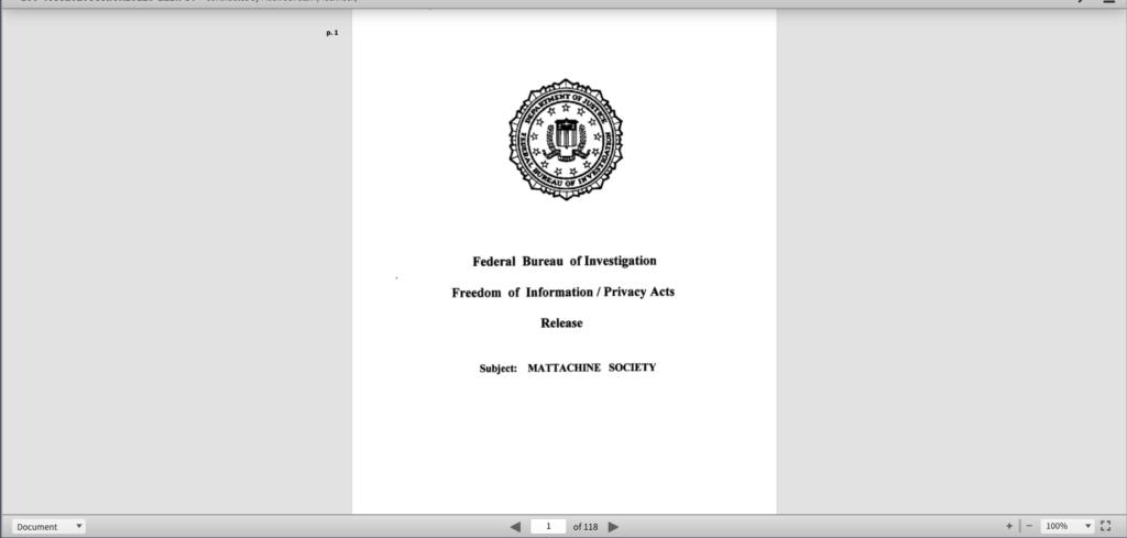 FTB Mattachine Society