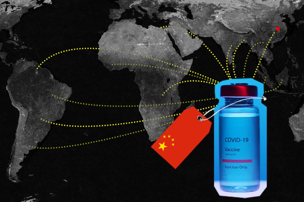 skiepu pasas komunistine kinija koronavirusas covid19