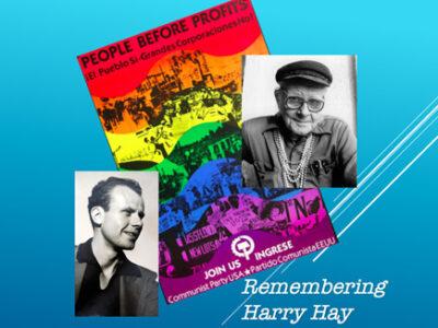 pedofilas Harry Hay